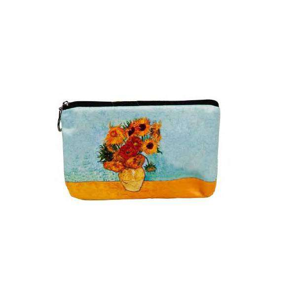 Fridolin Van Gogh Slunečnice etue kosmetická taštička