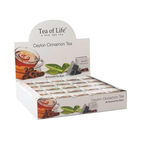 Tea of Life Čaj Horeca Ceylon Cinnamon 25x2g