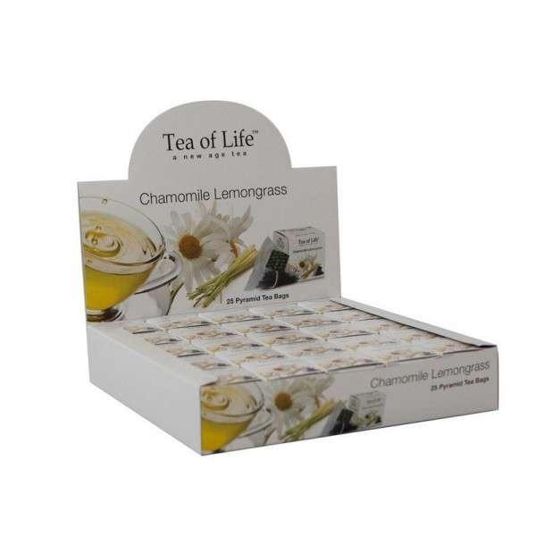 Tea of Life Čaj Horeca Chamomile and Lemon grass 25x2g