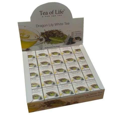 Tea of Life Čaj Horeca Dragon Lily White 25x2g