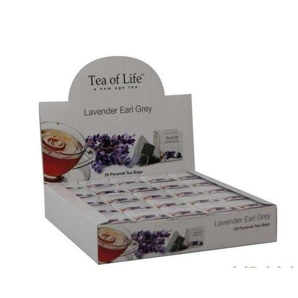 Tea of Life Čaj Horeca Earl Grey, Lavender 25x2g