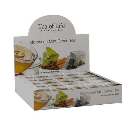 Tea of Life Čaj Horeca Moroccan Mint 25x2g