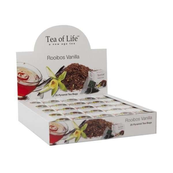 Tea of Life Čaj Horeca Rooibos Vanilla 25x2g