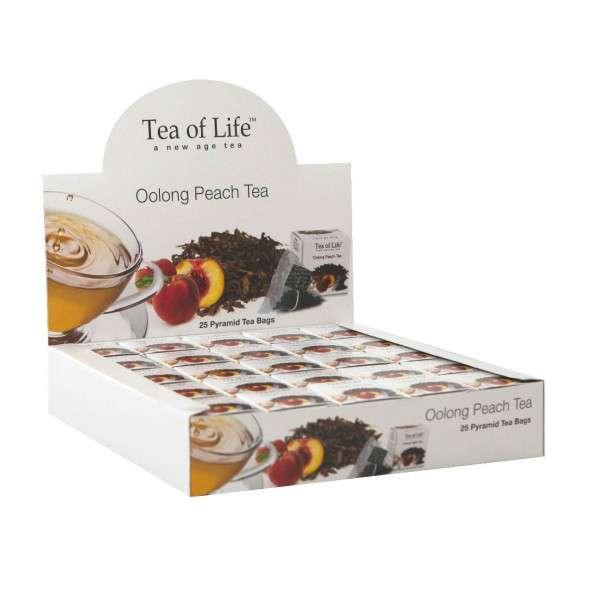 Tea of Life Čaj Horeca Oolong Peach 25x2g