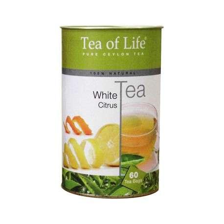 Tea of Life Čaj White Tea Citrus