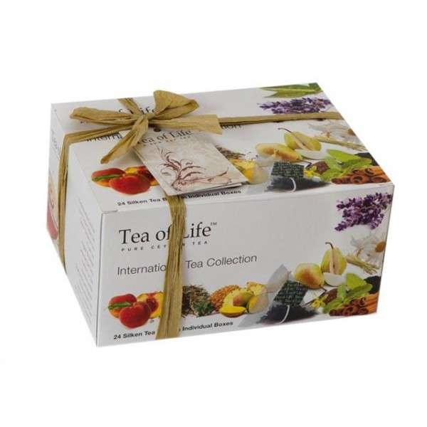 Tea of Life Dárkové balení čajů International Tea Collection 24ks