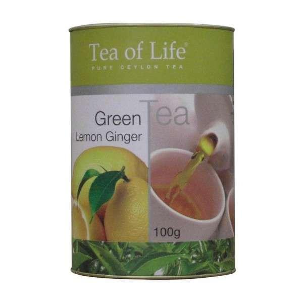 Tea of Life Green Tea Lemon Ginger