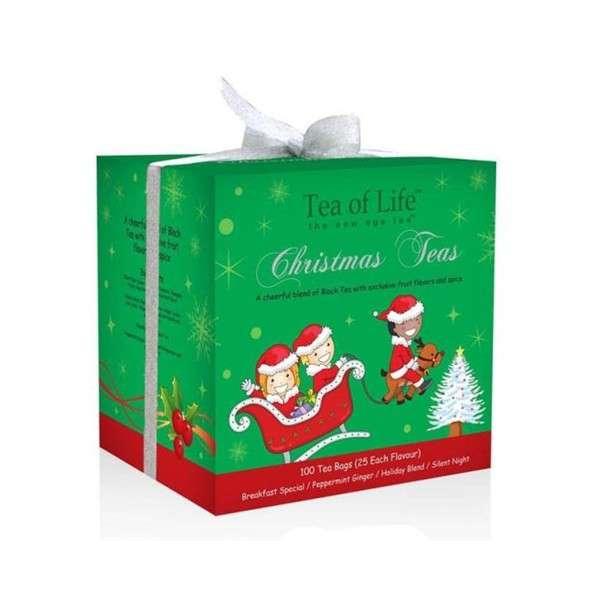 Tea of LifeHoliday box Green Christmas Tea 200g
