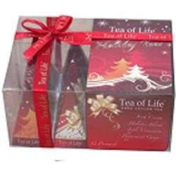 Tea of Life Vánoční čaj Holiday Assorted Prism Collection 2x12g