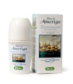 Derbe Terre di Amerigo - Deodorant roll-on bez alkoholu s mořskou vůní 50 ml