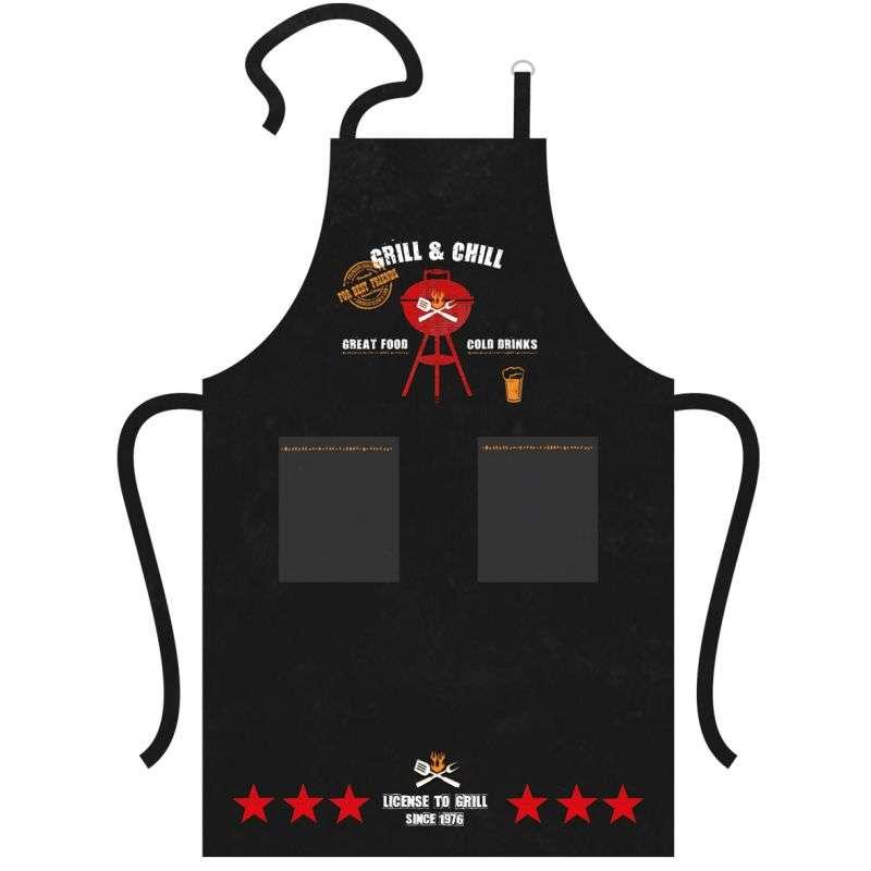 Dřevěná dárková bedna BBQ Man