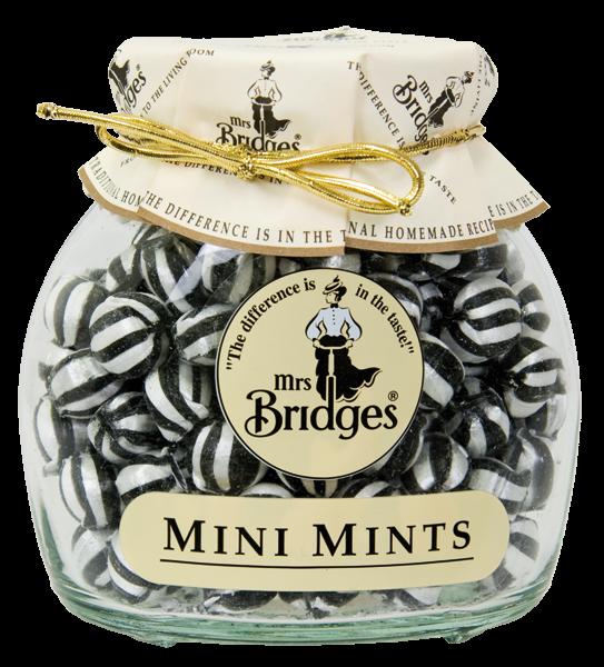 Mrs. Bridges Cucavé bonbony Mentolové, 155g