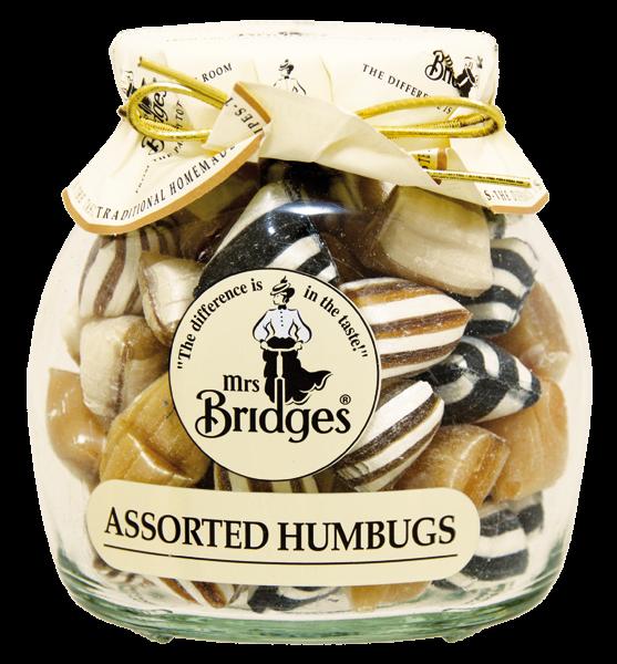 Mrs. Bridges Mix mentolových bonbonů, 155g