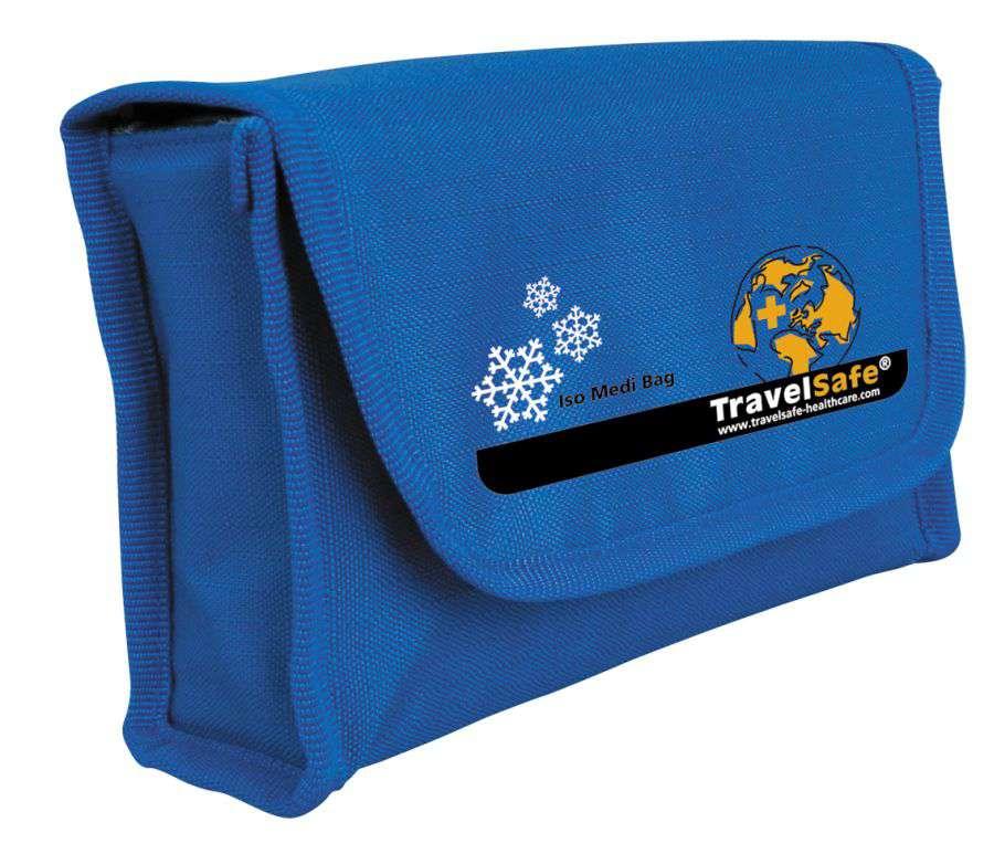 TravelSafe chladící taška na léky modrá