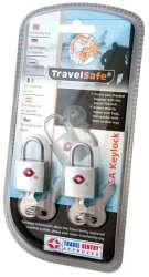 TravelSafe sada zámků TSA Keylock