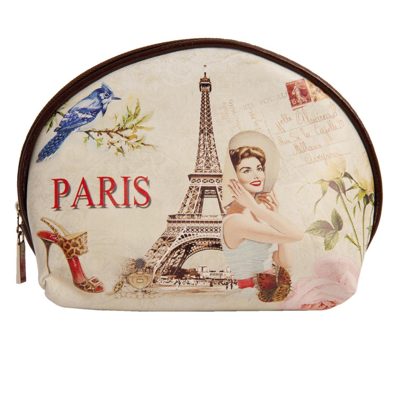 Clayre & Eef Kosmetická taštička Paris