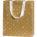 Dárková taška Corona gold 18 x 8 x 21 cm