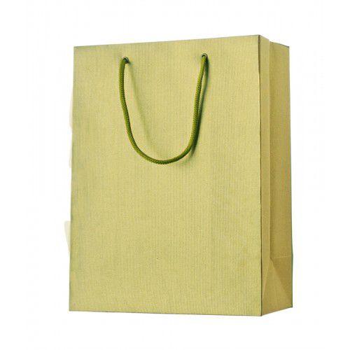 Dárková taška one colour gold střední 25 x 13 x 33 cm Stewo