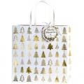 Dárková taška Belle gold 27 x 13 x 27 cm