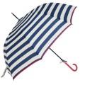 Automatický deštník s pruhy