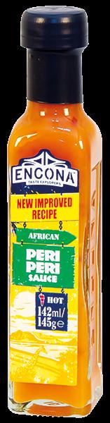 Encona Peri Peri Hot sauce Ostrá chilli omáčka 142ml