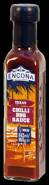 Encona Texan Chilli BBQ Texaská Chilli Barbecue omáčka 142 ml