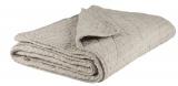 Bavlněný přehoz Pattern Sand 130x180 cm