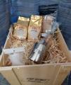 Dřevěná dárková bedna Coffee