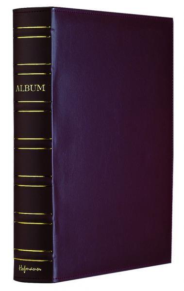 Hofmann Album kniha koženka 10x15 / 400 foto černá