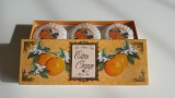 Citrus Orange - 100% přírodní plisovaná mýdla 3 x 100 g