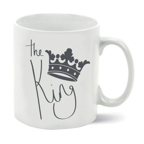 Porcelánový hrnek Král, 325 ml
