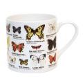 Hrnek porcelánový s motýly
