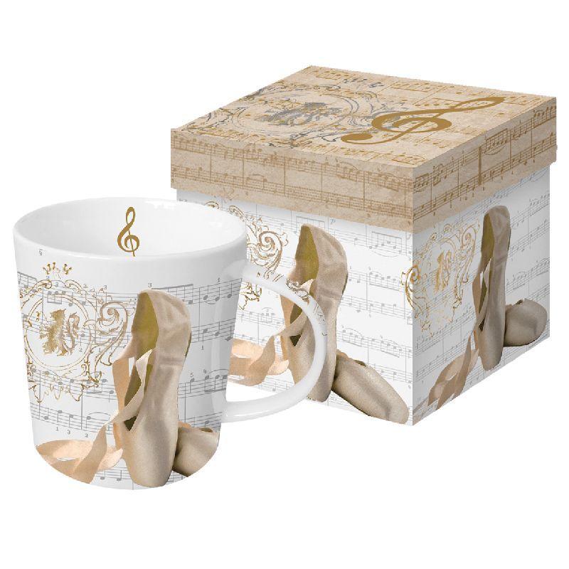PPD Porcelánový hrnek v krabičce Baletní piškoty