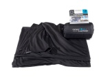Cestovní deka Coolmax black 180 x 140 cm