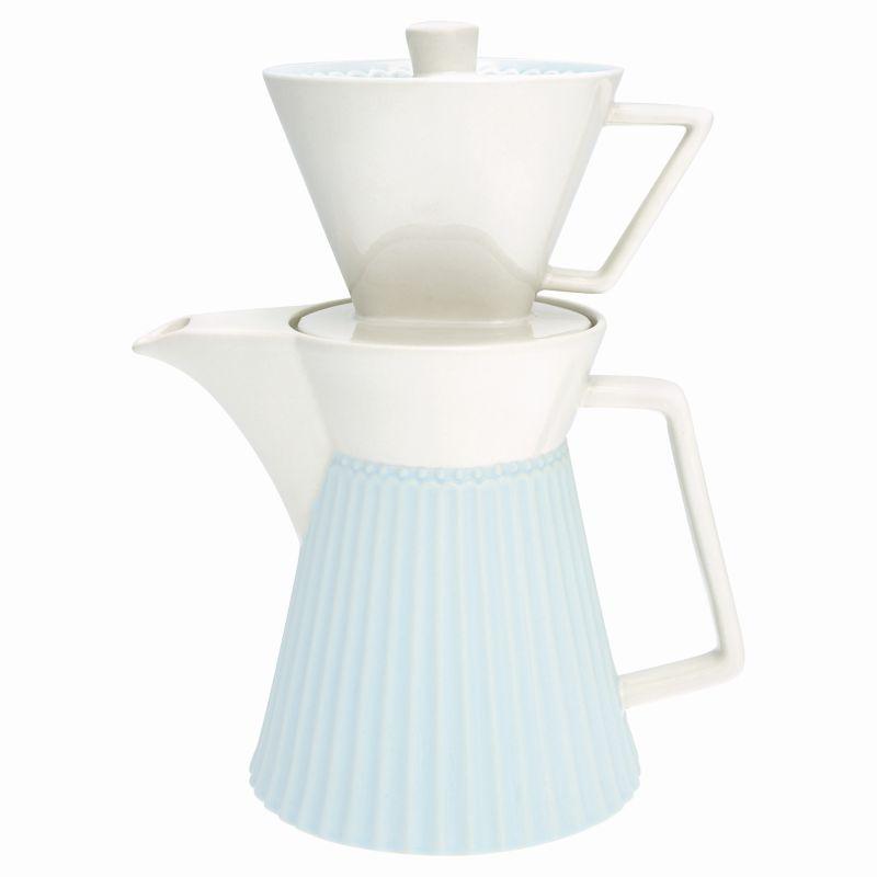 Green Gate Kávová konvice s filtrem Alice pale blue