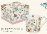 Porcelánový hrnek 300ml s dekorem v boxu - PARIS FOREVER