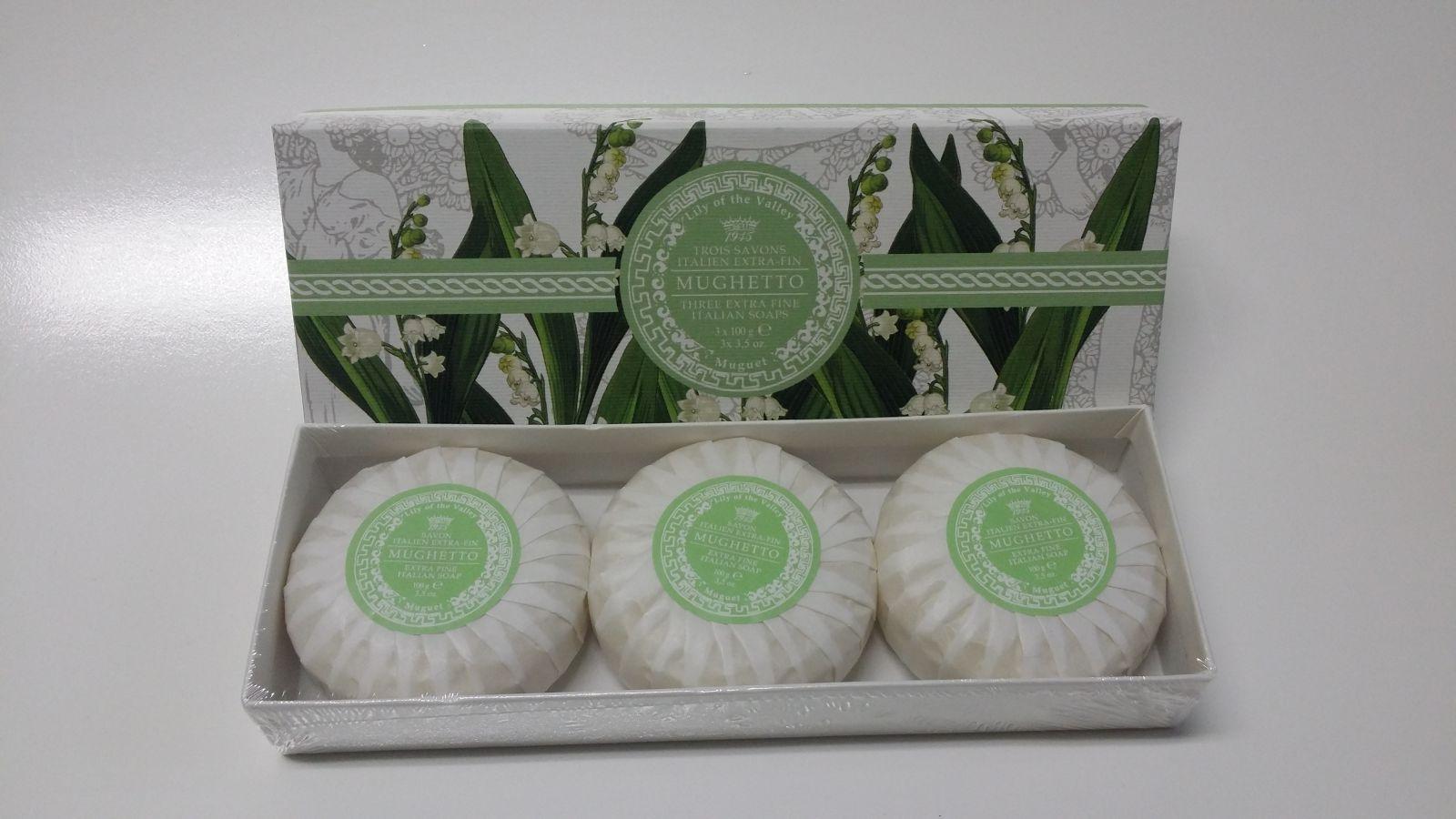 Saponificio Varesino - Mughetto soap 3 x 100 g