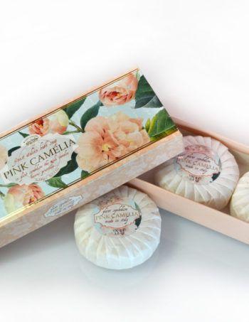 Saponificio Varesino - Pink Camelia soap 3 x 100 g