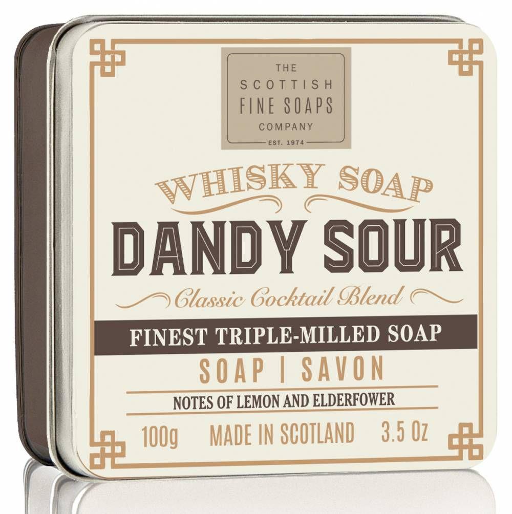 SCOTTISH FINE SOAPS MÝDLO V PLECHU WHISKY DANDY SOUR, 100G Schottish Fine Soaps