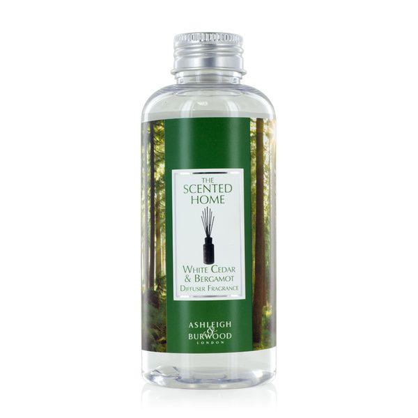 Ashleigh & Burwood Náplň do difuzéru WHITE CEDAR & BERGAMOT (bílý cedr a bergamot) 150 ml