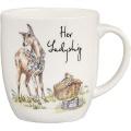 Porcelánový hrnek Country Ladyship
