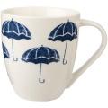 Porcelánový hrnek Umbrellas