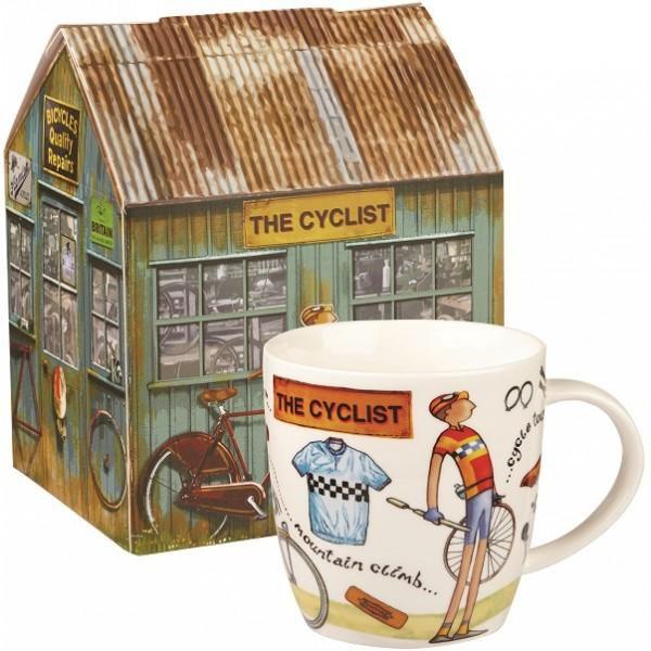 Dřevěná dárková bedna Cyklista