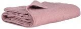 Prošívaný přehoz Light pink/dots 130x180
