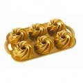 Forma na zákusky a mini bábovky, mini Rondo zlatá