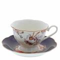 Elderberry Cup & Saucer, šálek s podšálkem