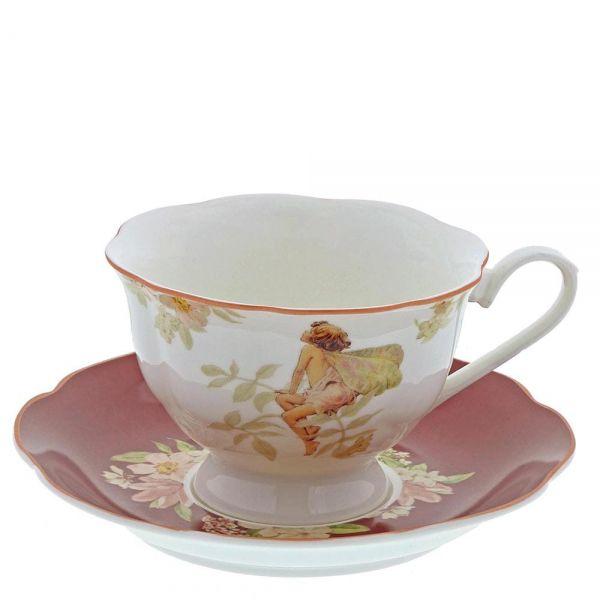 Enesco Jasmine Cup & Saucer, šálek s podšálkem, výška 9,5cm