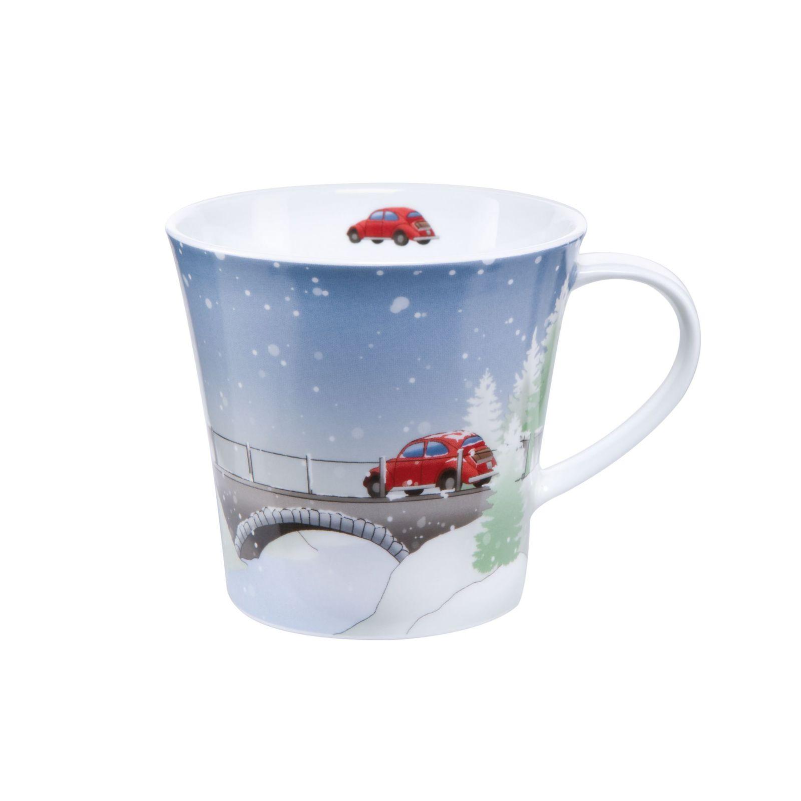 Goebel Hrnek porcelánový Nordic Christmas