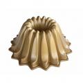 Forma na bábovku Lotus, zlatá