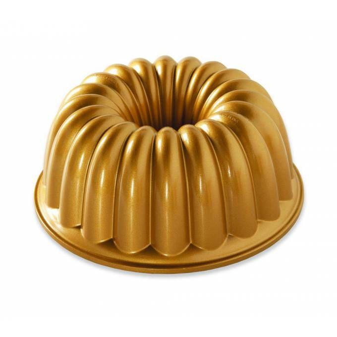 Nordic Ware forma na bábovku Elegant zlatá